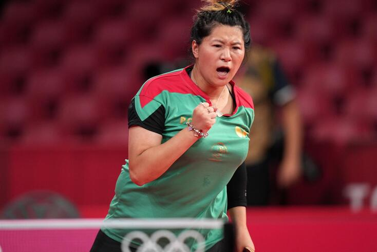 Shao Jieni representa Portugal no ténis de mesa