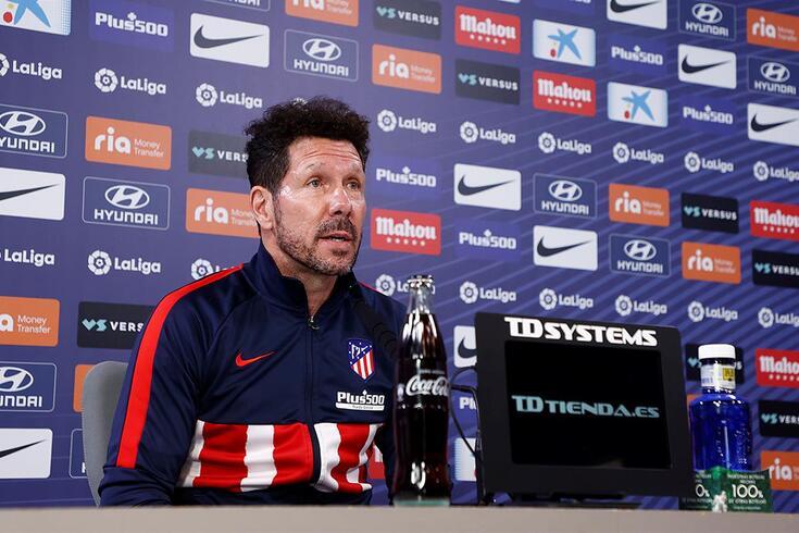 Diego Simeone, treinador do Atlético de Madrid