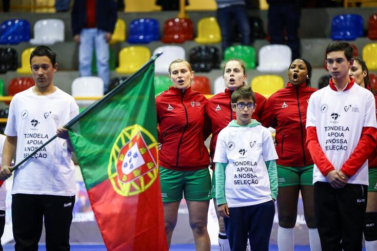 Seleção feminina de andebol vai tentar presença no Europeu