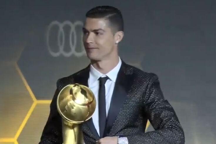 Globe Soccer Awards: melhor golo de 2018 foi de Cristiano Ronaldo