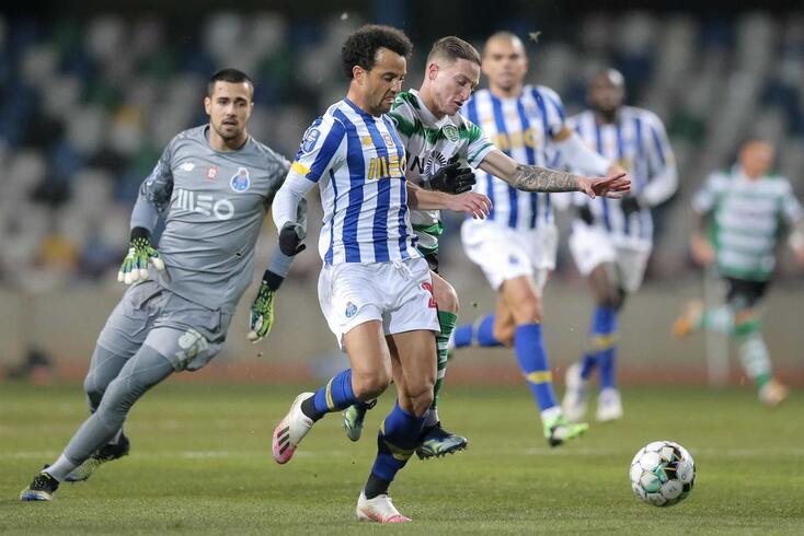 Felipe Anderson mostrou-se disponível frente ao Sporting e pode ter fôlego renovado no Dragão