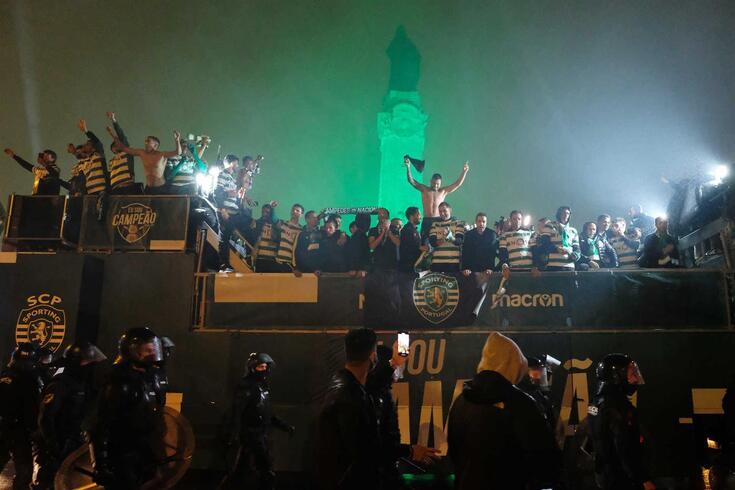 Sporting sagrou-se campeão nacional 19 anos depois