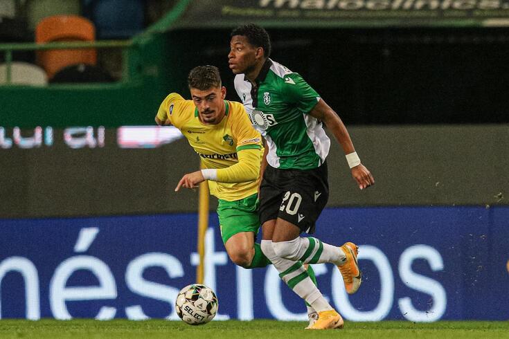 Gonzalo Plata foi reintegrado nos trabalhos da equipa principal do Sporting