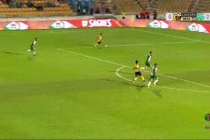 O Loures perdeu frente ao Sporting, mas não esquecerá este golo