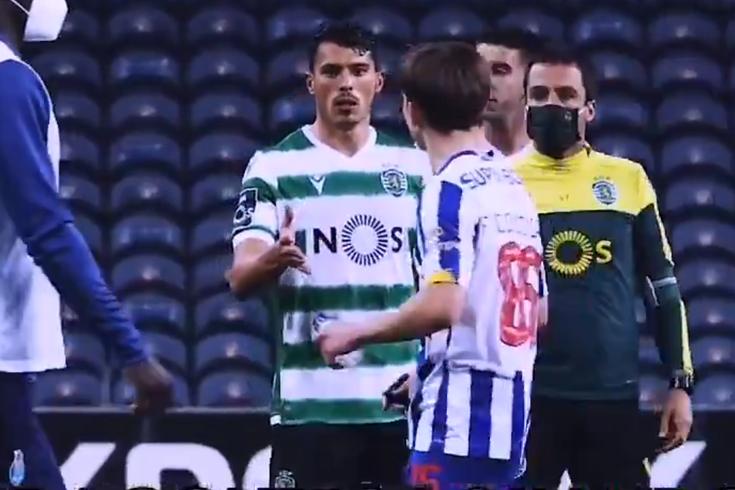 Porro critica atitude de Francisco Conceição no final do FC Porto-Sporting