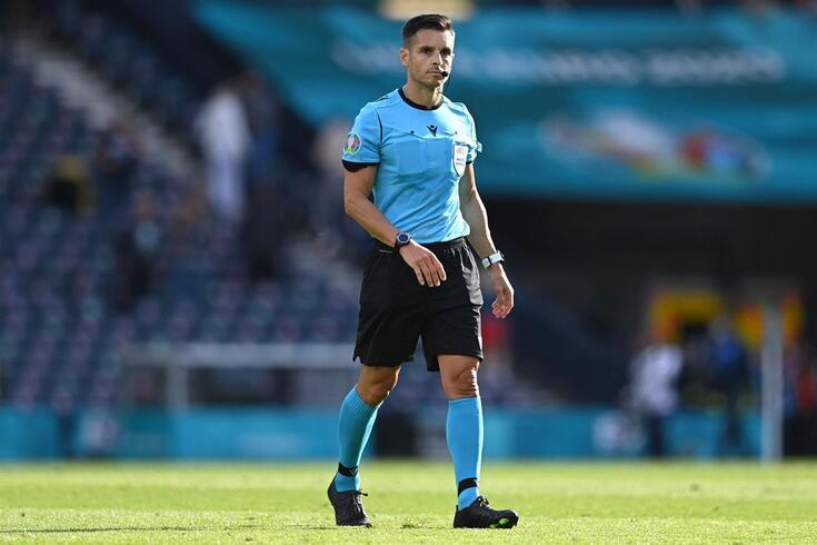 Carlos Del Cerro no Croácia-Chéquia do Euro'2020