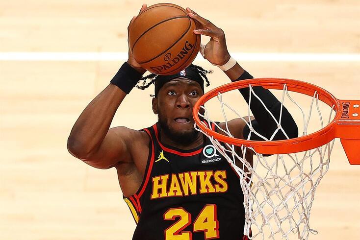 Bruno Fernando joga na NBA, ao serviço dos Hawks