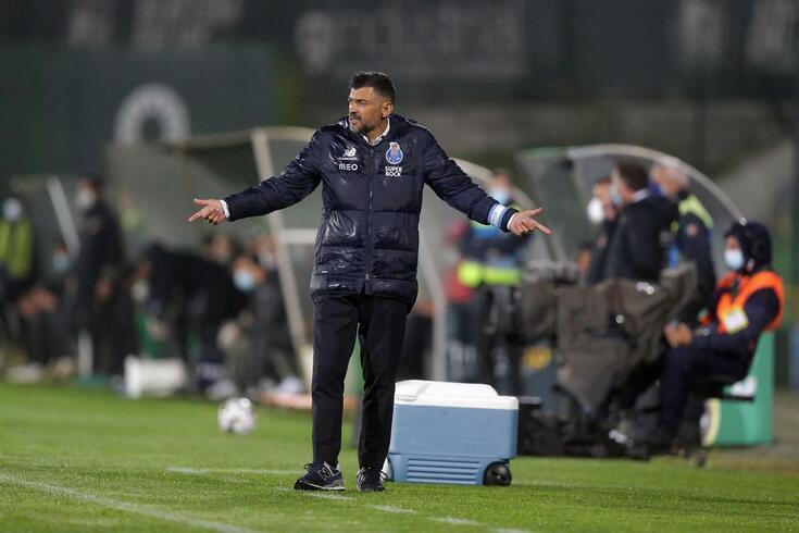 Sérgio Conceição, treinador em final de contrato com o FC Porto
