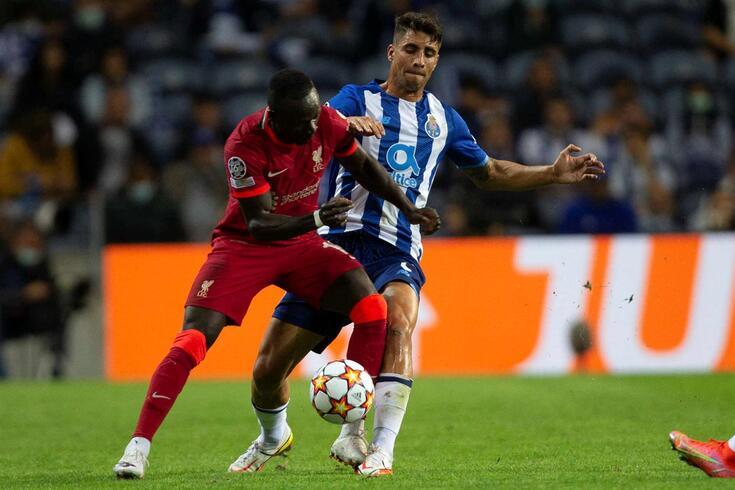 Fábio Cardoso estreou-se pelo FC Porto frente ao Liverpool
