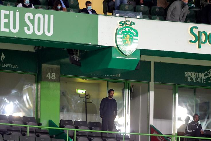 Rúben Amorim, treinador do Sporting