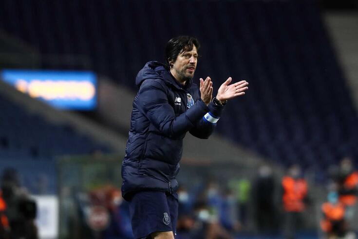 Vítor Bruno, treinador adjunto do FC Porto