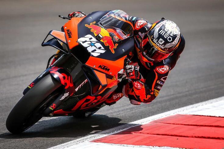 Miguel Oliveira, piloto português da KTM