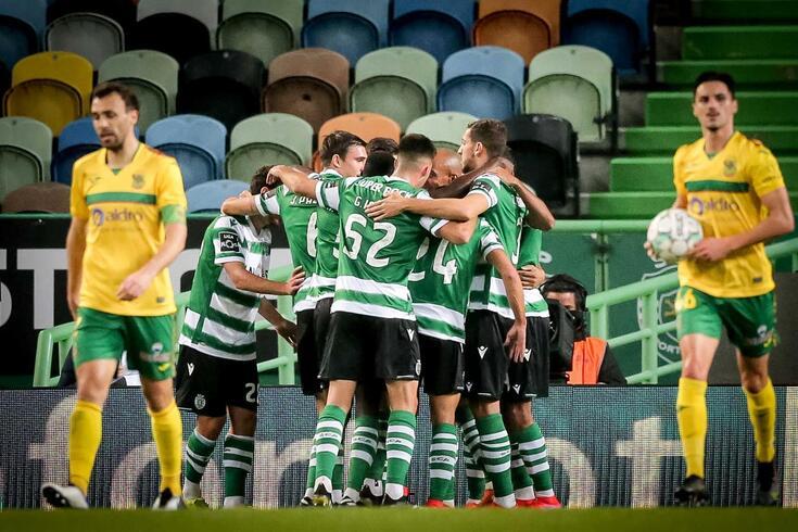 Sporting lidera a I Liga com larga margem