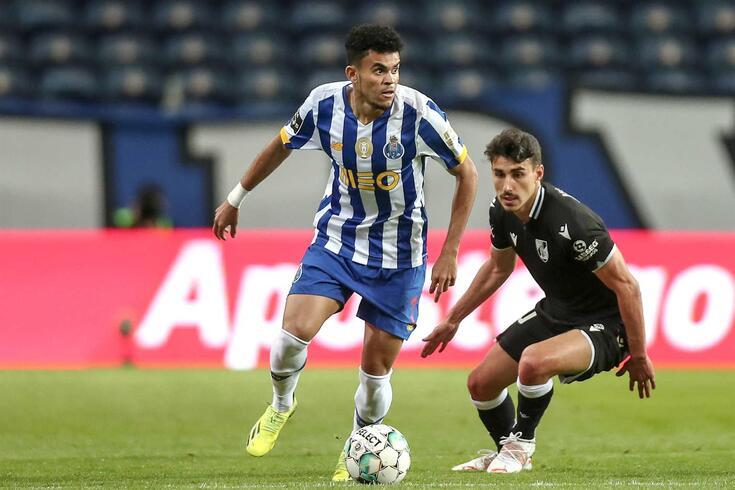 Roma estará a estudar a hipótese de contratar Luis Díaz ao FC Porto