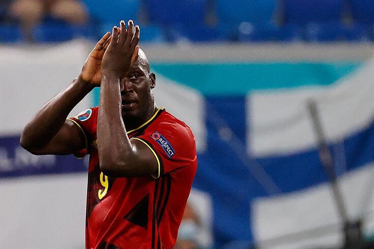 Lukaku leva três golos no Europeu
