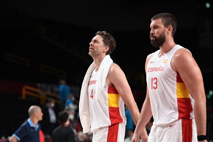 Pau e Marc Gasol despedem-se da seleção espanhola