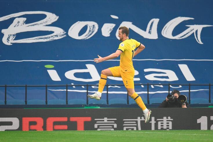 Harry Kane marcou o único golo do jogo