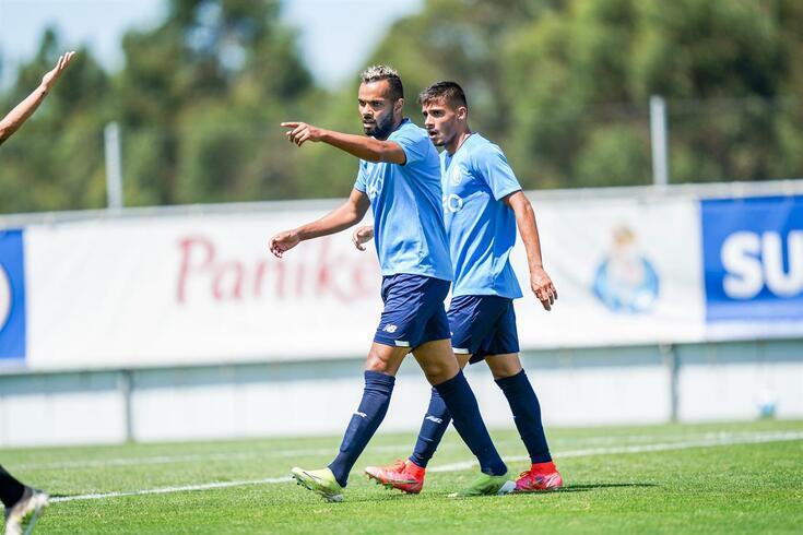 Taremi e Fernando Andrade (assim como Zaidu) marcaram frente à Académica