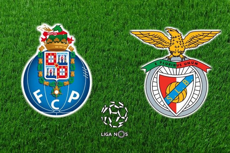 DIRETO | FC Porto-Benfica