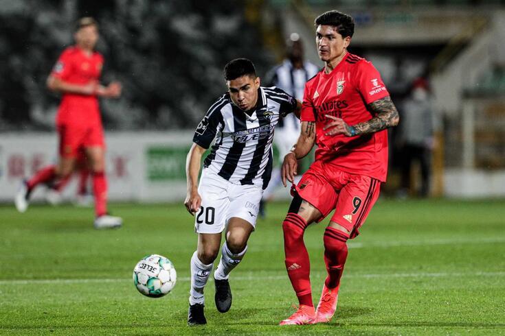 Darwin, avançado uruguaio do Benfica