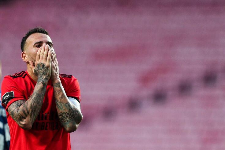 Otamendi, defesa do Benfica
