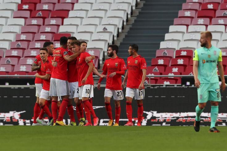 Benfica venceu o Marítimo por um golo sem resposta