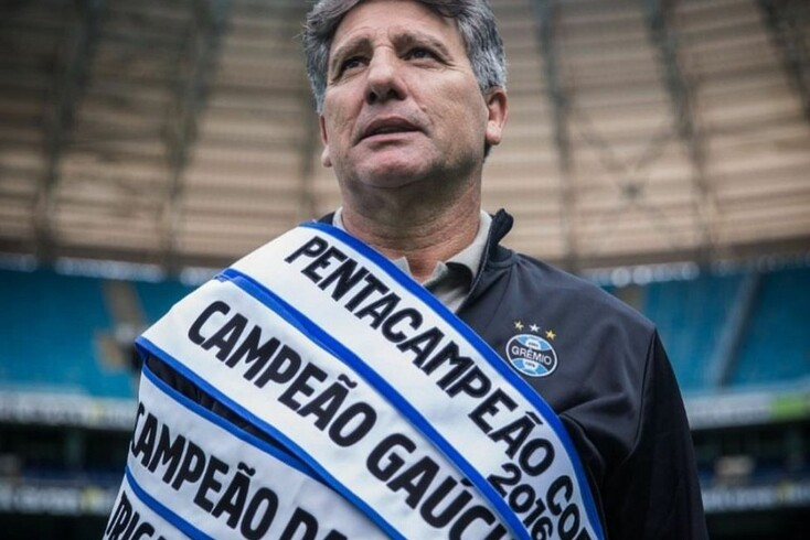 Renato Gaúcho, treinador brasileiro