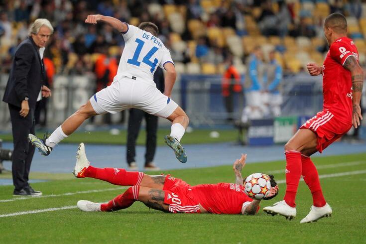 Benfica empatou em Kiev