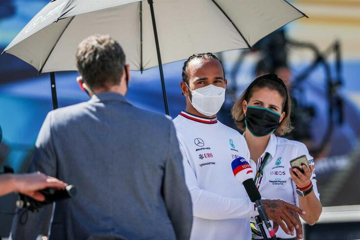 Lewis Hamilton, piloto britânico da Mercedes