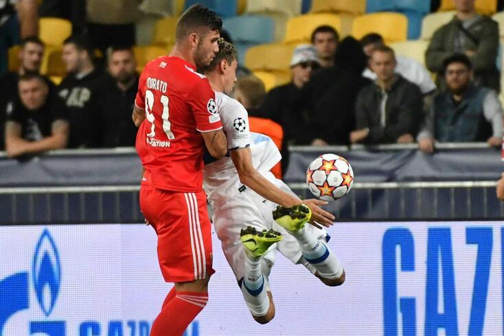 Morato, defesa do Benfica