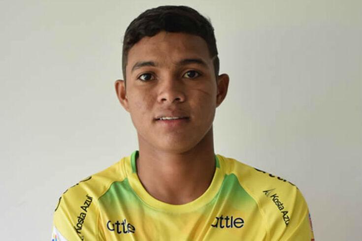 Andrés Amaya é extremo e vai fazer 19 anos
