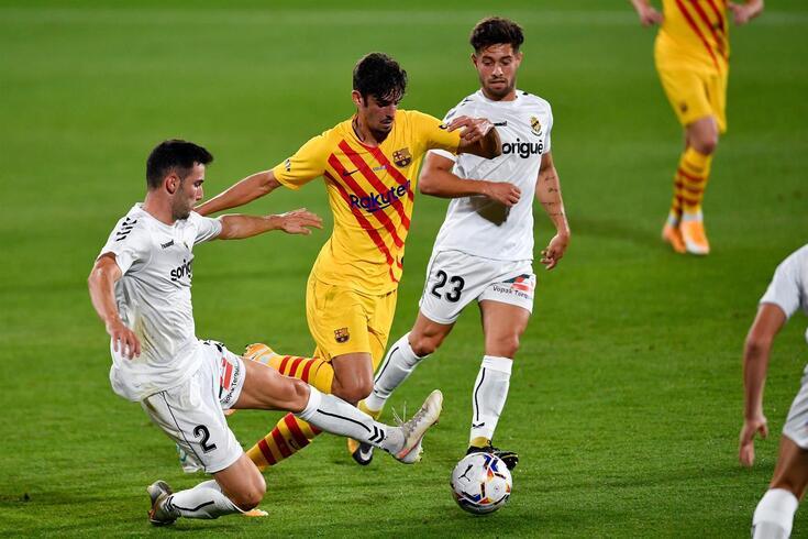 Trincão começou a brilhar logo no jogo de estreia pelo Barcelona