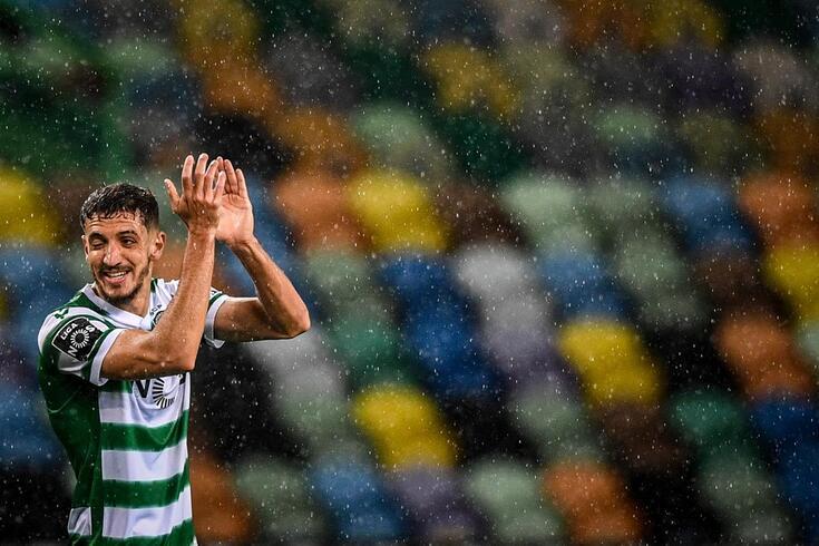 Feddal marcou o primeiro golo do Sporting