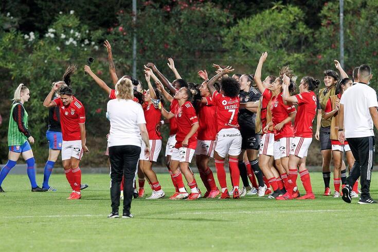 Benfica na Liga dos Campeões feminina