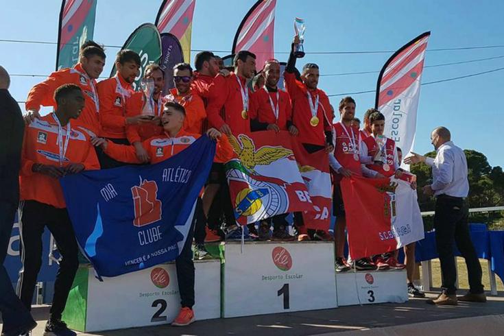 Benfica conquista hexacampeonato de corta-mato curto