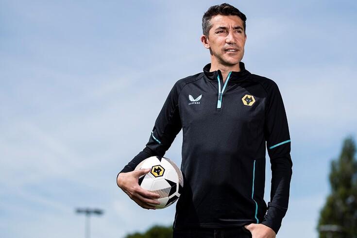 Bruno Lage, novo treinador do Wolverhampton