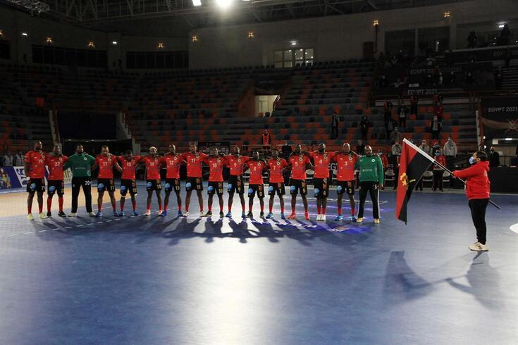 Seleção angolana de andebol