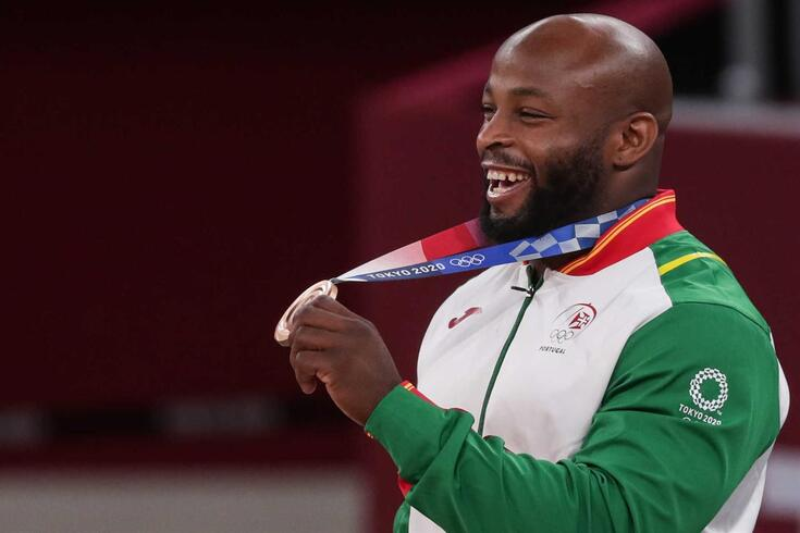 Jorge Fonseca conquistou medalha de bronze em Tóquio