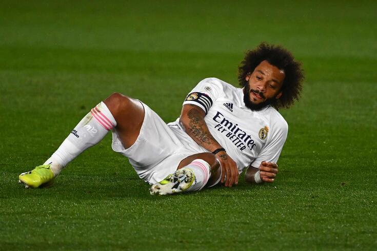 Marcelo, jogador do Real Madrid