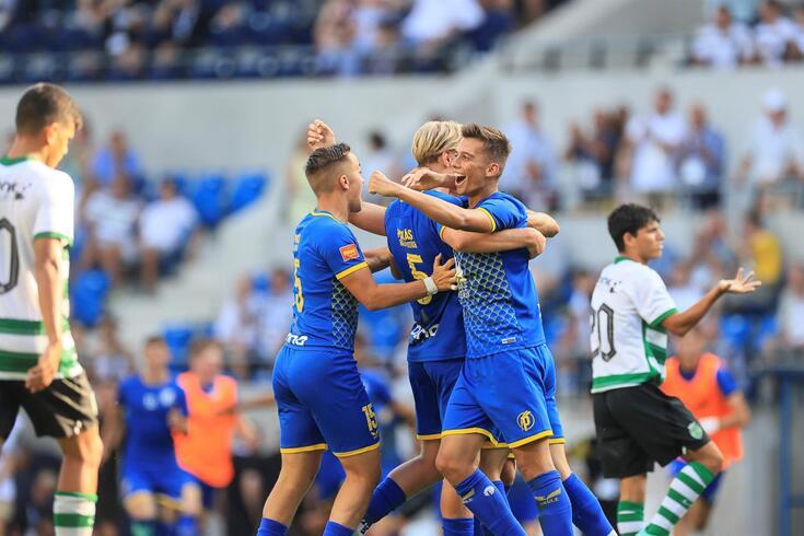 Juniores do Sporting perderam final na Hungria