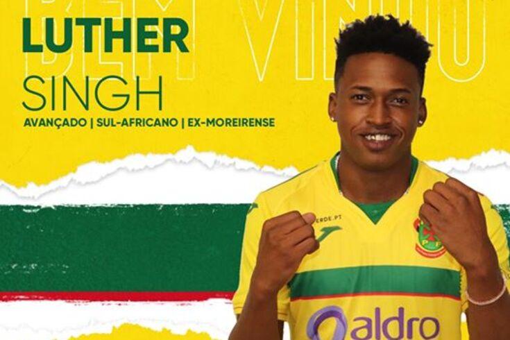 Paços de Ferreira confirma Luther Singh por empréstimo do Braga