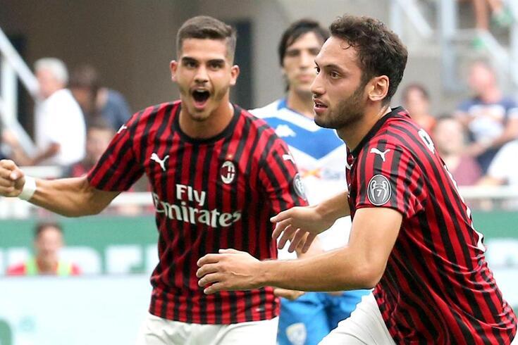 André Silva foi titular na vitória frente ao Brescia