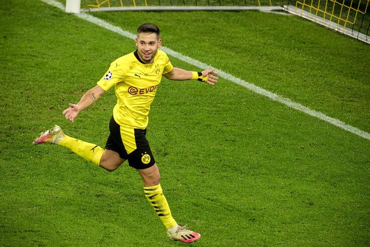 Raphael Guerreiro, internacional português do Borussia Dortmund