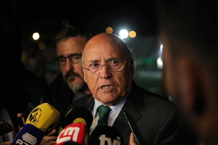 Sousa Cintra compareceu em tribunal para testemunhar