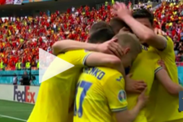 Três golos para ver na vitória da Ucrânia sobre a Macedónia do Norte