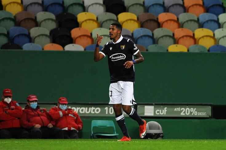Anderson marcou o golo do empate do Famalicão em Alvalade