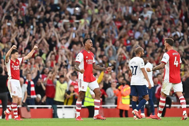 Arsenal bateu o Tottenham em jogo da sexta jornada da Premier League