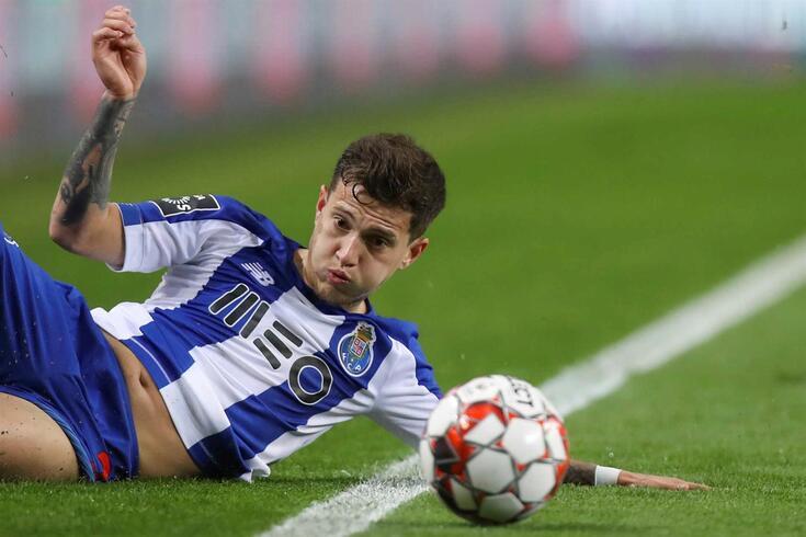 Otávio, jogador polivalente do FC Porto