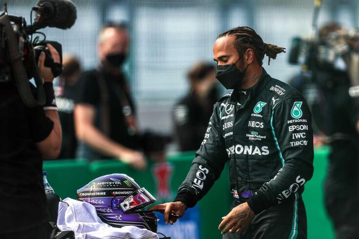 Lewis Hamilton, piloto da Mercedes