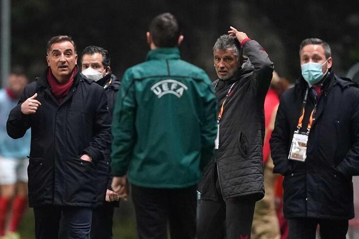 Braga perdeu com a Roma por 2-0, em casa